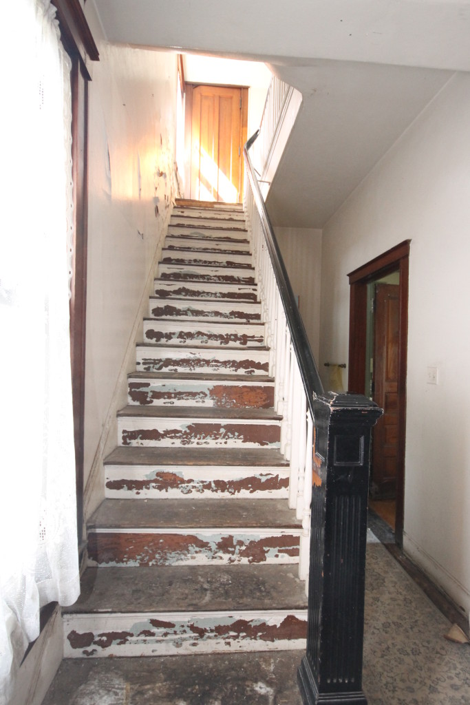 The back stair