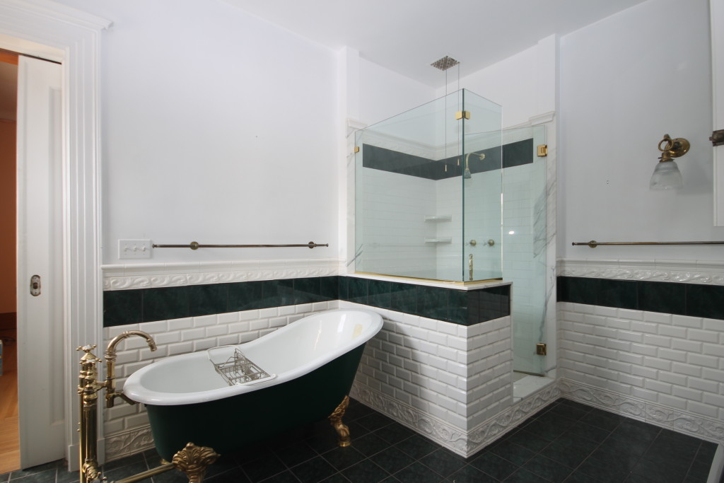 One of three 'Jack and Jill' bathrooms