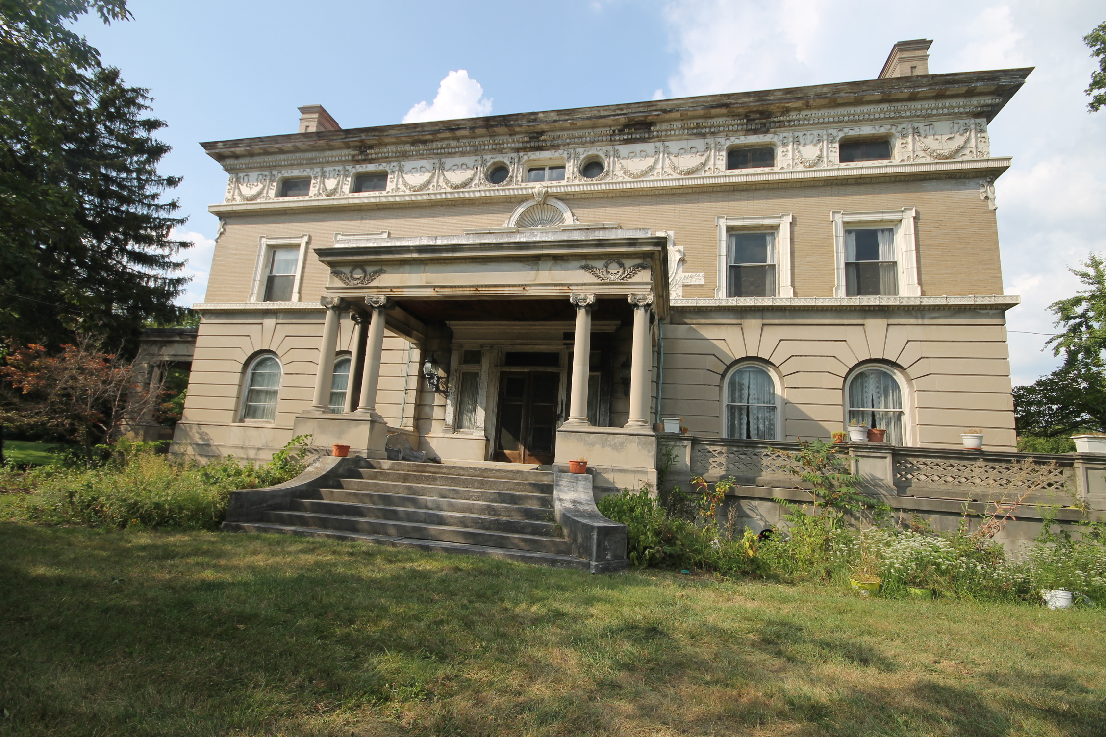 A virtual tour of the enger mansion cincinnati historic for Beautiful house tour