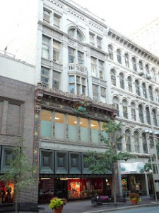 Gidding's department store at 10-12 West Fourth Street.