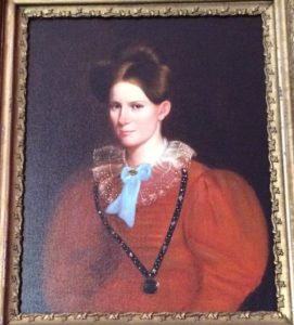 Mrs. McWilliams, one of the home's first owners.