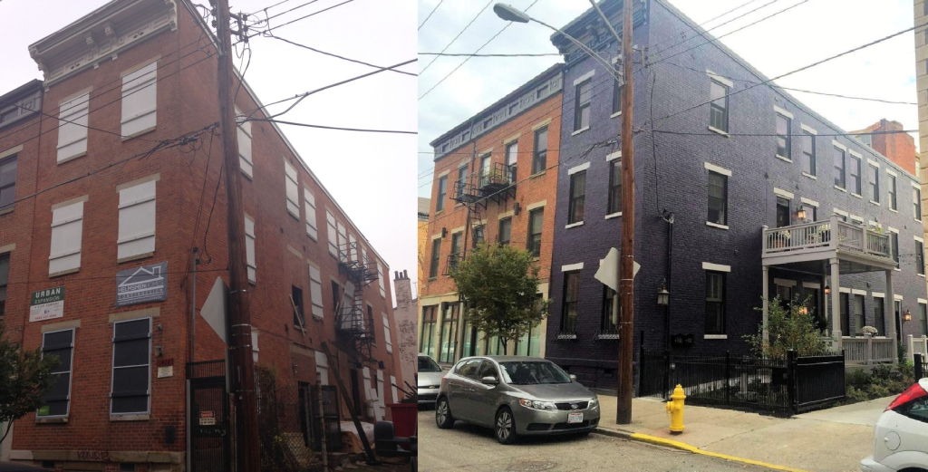 Before and After: 1428 Republic Street