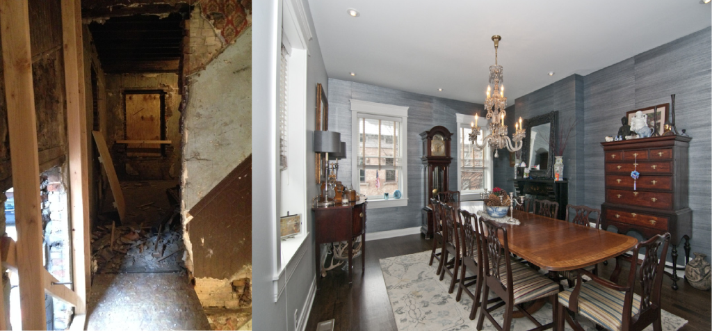 Before and After: The Dining Room