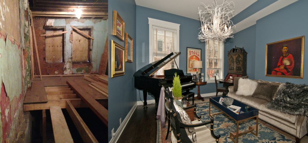 Before and After: The Living Room