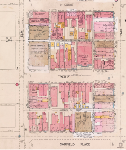 Sanborn map of Garfield Place, 1904