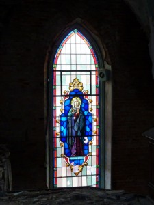 Our Lady of Perpetual Help stained glass window
