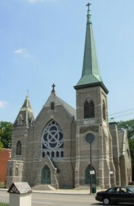 Former Church of the Assumption on Gilbert Avenue in Walnut Hills.