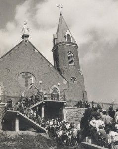 The Holy Cross-Immaculata church in Mt. Adams.