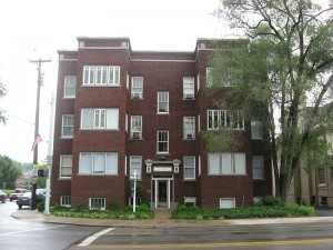 La Tosca apartments, 2700 Observatory Avenue, Cincinnati Ohio.