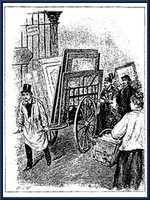"The term ""charrette"" is derived from the French word for ""little cart."" In Paris during the 19th century, professors at the Ecole de Beaux Arts circulated with little carts to collect final drawings from their students. Students would jump on the ""charrette"" to put finishing touches on their presentation minutes before the deadline."