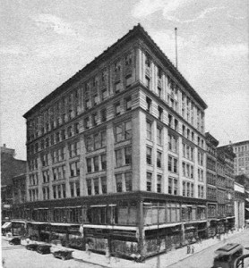 Pogues' department store at 4th and Race (torn down for present-day Tower Place).