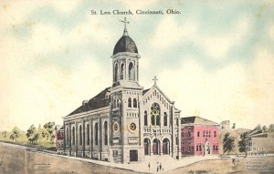 St Lea Church in Fairmont, also desinged by Anthony Kunz.
