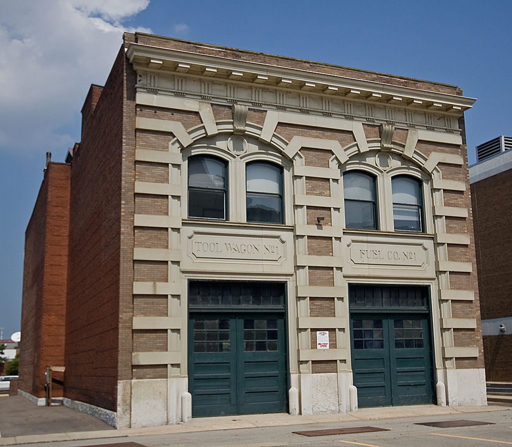 Cincinnati Fire Museum, located in the Court Street Firehouse (315 West Court Street).
