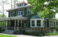 The Roth House on Rose HIll Avenue by Anthony Kunz.