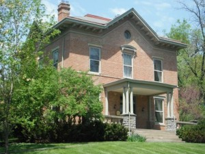 Thompson-Baldwin House circa 1854 and currently listed for sale (MLS # 1429210)