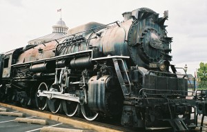 C & O train engine