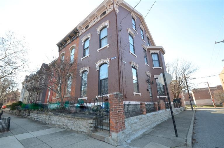 An Italianate in its urban townhome form ( 901 Russell Street, Covington Kentucky and currently for sale [MLS# 441332 ])